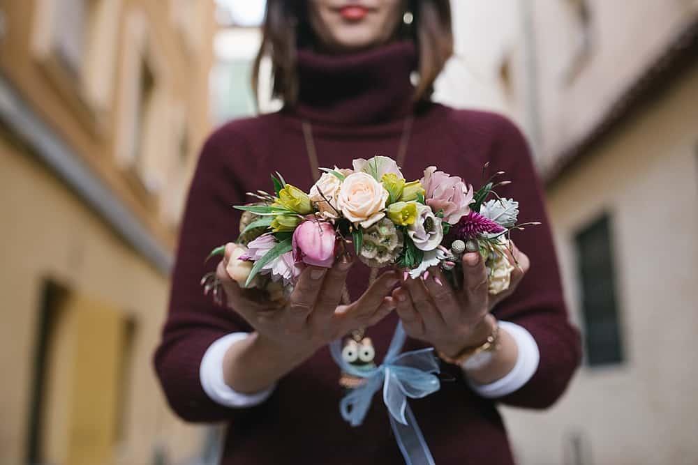 corona flor natural boda_ Love&Fest